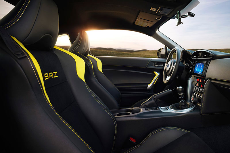 2017-Subaru-BRZ-Series-Yellow-special-edition-cabin