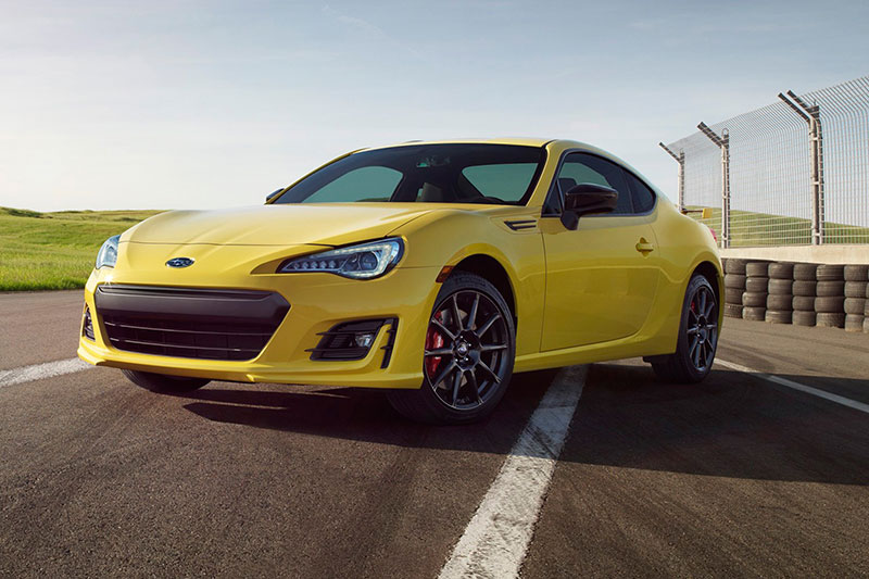 2017-Subaru-BRZ-Series-Yellow-special-edition-front-three-quarter-01