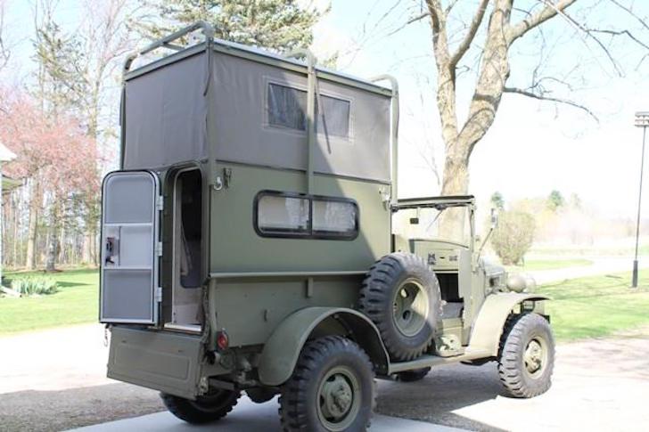 WWII-camper