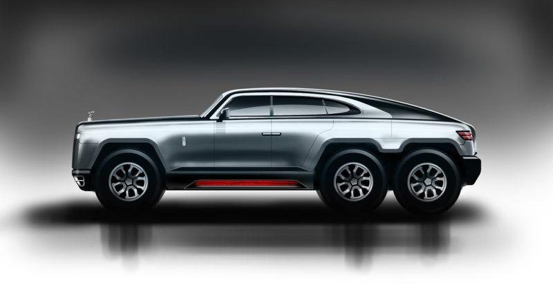 Rolls Royce 6×6 однозначно стал бы хитом в России и на Ближнем Востоке