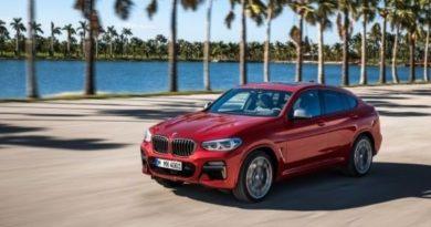 Стала известна цена на BMW X4