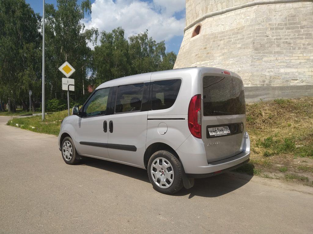 Fiat Doblo тест-драйв