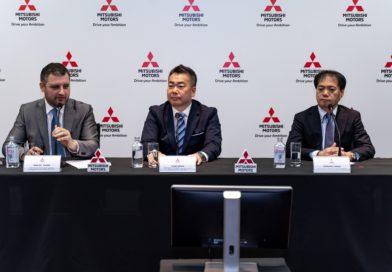 Пресс-конференция Mitsubishi