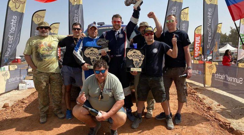 AFRICA ECO RACE 2020: Россияне в призах на Розовом озере в Дакаре!