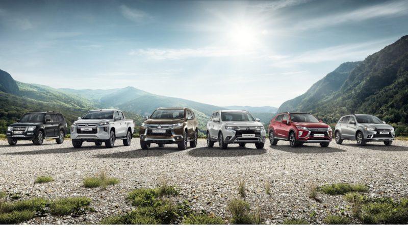 Результаты продаж автомобилей Mitsubishi в России за январь 2020 года